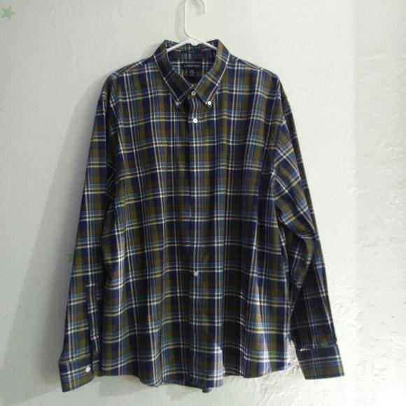 760f829e Lands' End Shirts | Lands End Man Shirt Xxl | Poshmark